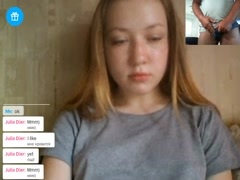 very hot sweet young girl make boy cum on chat cam