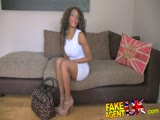 FakeAgentUK Inexperienced ebony amateur gets duped into fake