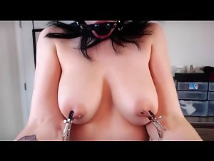 My Sister Gagged And Clamped Nipples