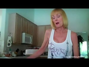 Amateur Granny Fucked At Her House