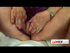 Naughty granny gets drilled hard by horny young stud