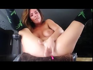 my amazing stepsister fingers herself to the orgasm